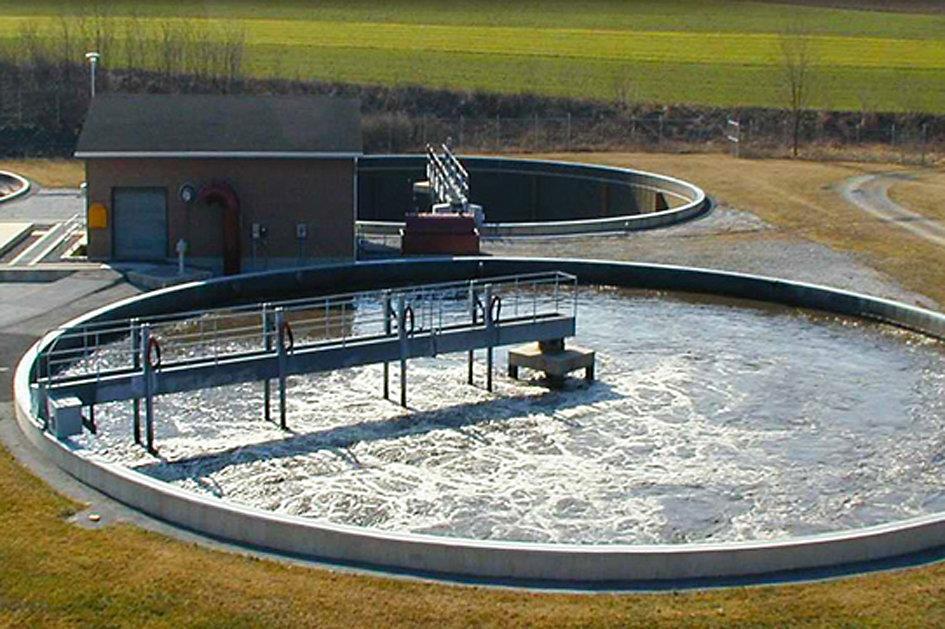 شناور سازی ذرات ریز معلق حوضچه فاضلاب