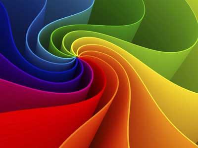 درک بشر از رنگ