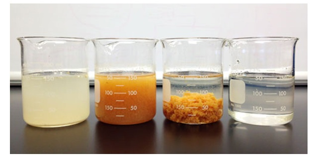 حذف مواد جامد محلول معدنی