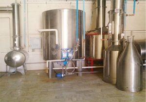 استخراج اسانس به روش تقطیر