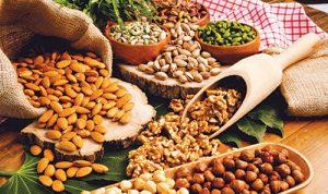 محصولات موجود در آجیل و خشکبار