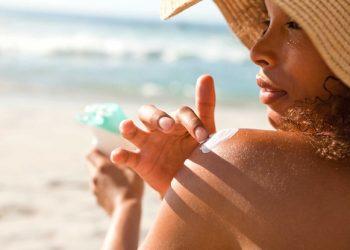 اثر تیتانیوم دی اکساید و زینک اکساید در کرم ضد آفتاب