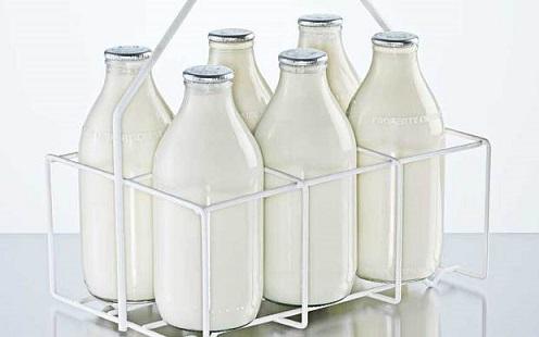 پرکن بطری شیشه ای شیر پاستوریزه و یا استریلیزه