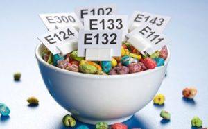 مواد شیمیایی غذایی