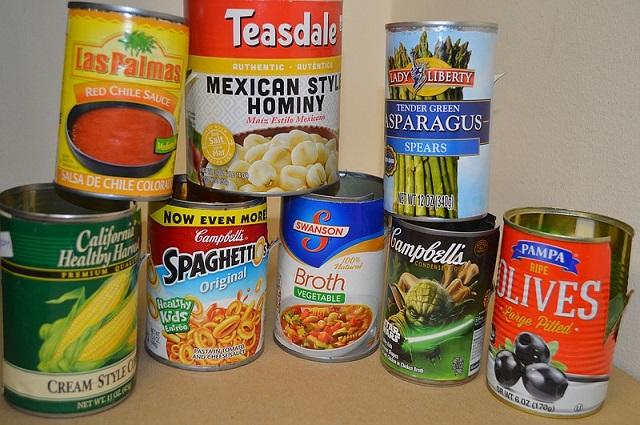 مواد شیمیایی موجود در مواد غذایی